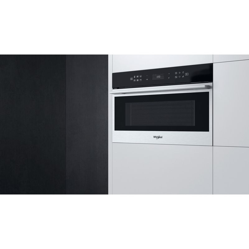 Whirlpool-Microonde-Da-incasso-W7-MD440-Stainless-Steel-Elettronico-31-Microonde---grill-1000-Lifestyle-perspective