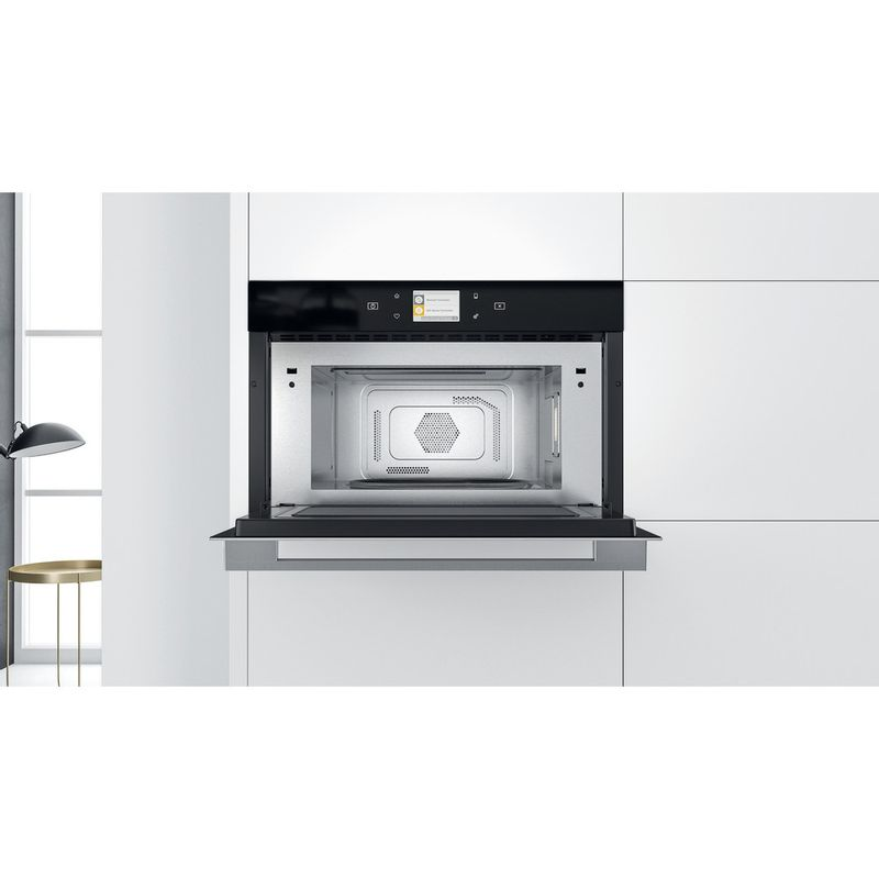 Whirlpool-Microonde-Da-incasso-W9-MD260-IXL-Stainless-Steel-Elettronico-31-Microonde-combinato-1000-Lifestyle-frontal-open