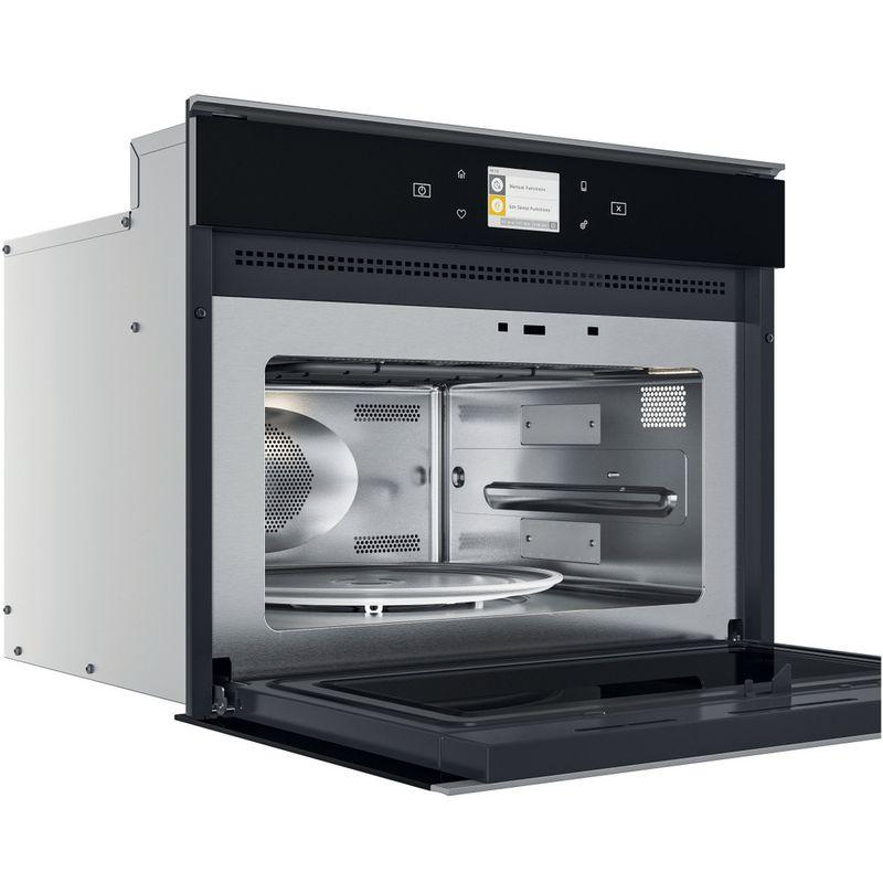 Whirlpool-Microonde-Da-incasso-W9I-MW261-Dark-Grey-Elettronico-40-Microonde-combinato-900-Perspective-open