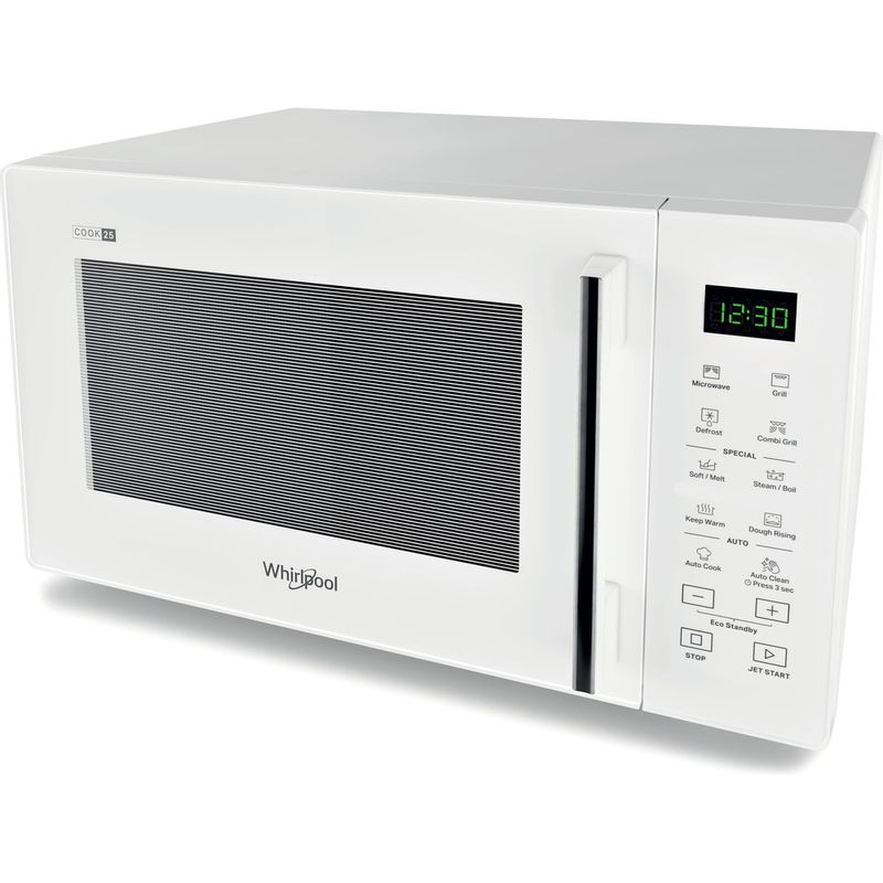 Whirlpool-Microonde-A-libera-installazione-MWP-254-W-Bianco-Elettronico-25-Microonde---grill-900-Perspective
