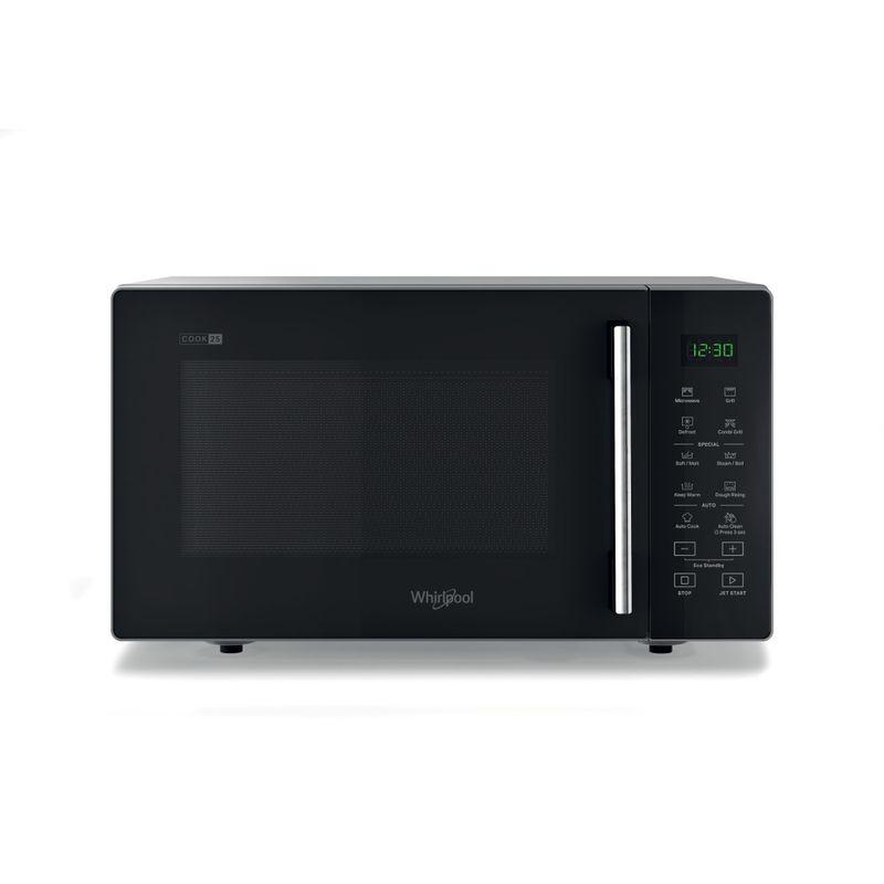 Whirlpool-Microonde-A-libera-installazione-MWP-254-SB-Nero-Elettronico-25-Microonde---grill-900-Frontal