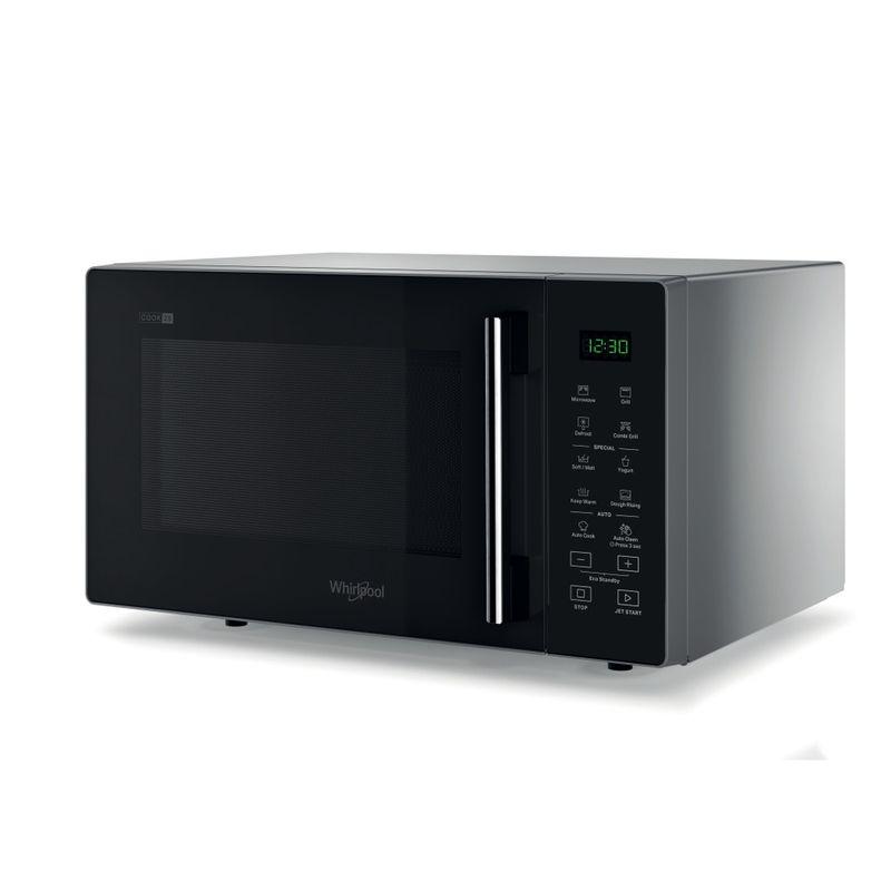 Whirlpool-Microonde-A-libera-installazione-MWP-253-SB-Silver-Black-Elettronico-25-Microonde---grill-900-Perspective