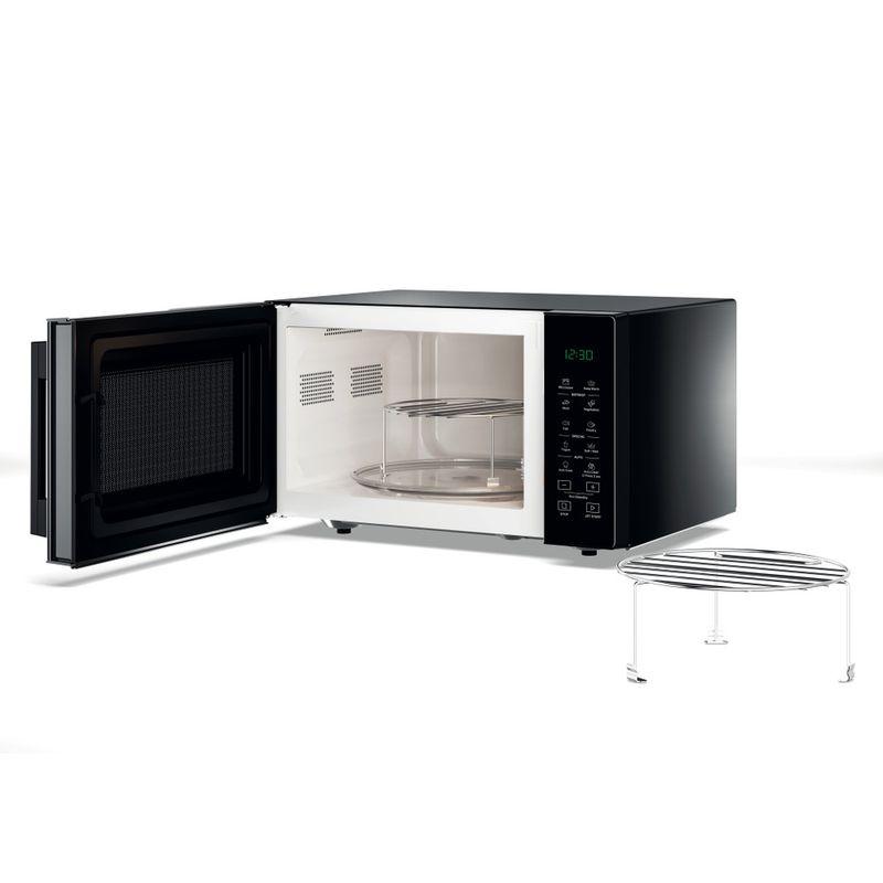 Whirlpool-Microonde-A-libera-installazione-MWP-253-B-Nero-Elettronico-25-Microonde---grill-900-Perspective_Open