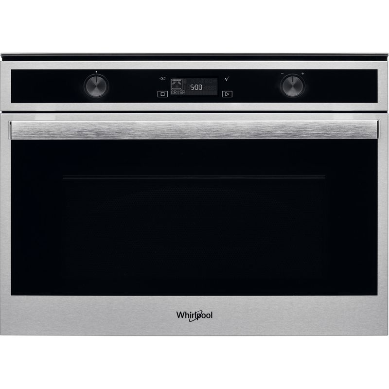 Whirlpool-Microonde-Da-incasso-W6-MW561-Stainless-Steel-Elettronico-40-Microonde-combinato-900-Frontal