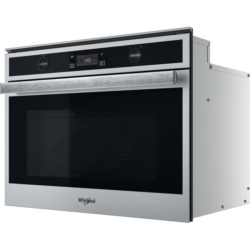 Whirlpool-Microonde-Da-incasso-W6-MW561-Stainless-Steel-Elettronico-40-Microonde-combinato-900-Perspective