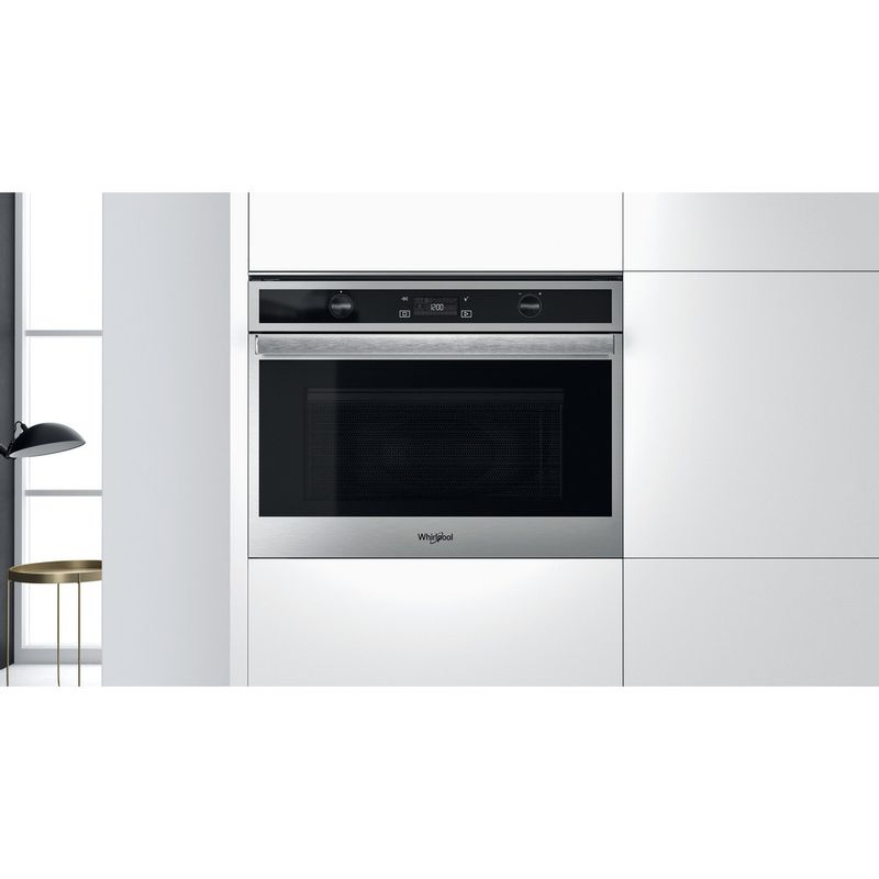 Whirlpool-Microonde-Da-incasso-W6-MW561-Stainless-Steel-Elettronico-40-Microonde-combinato-900-Lifestyle-frontal