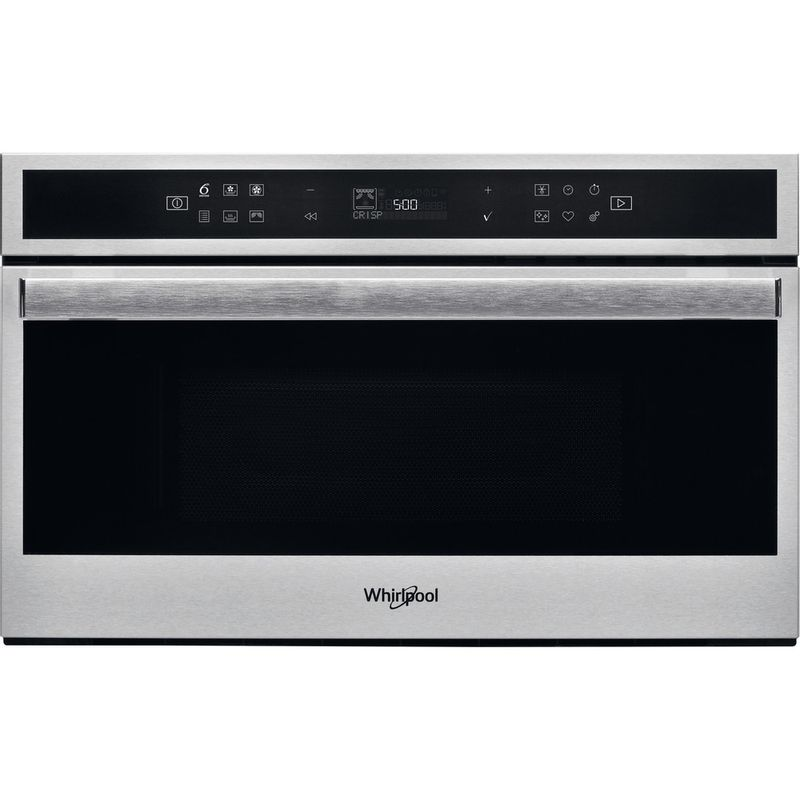 Whirlpool-Microonde-Da-incasso-W6-MD460-Stainless-Steel-Elettronico-31-Microonde-combinato-1000-Frontal