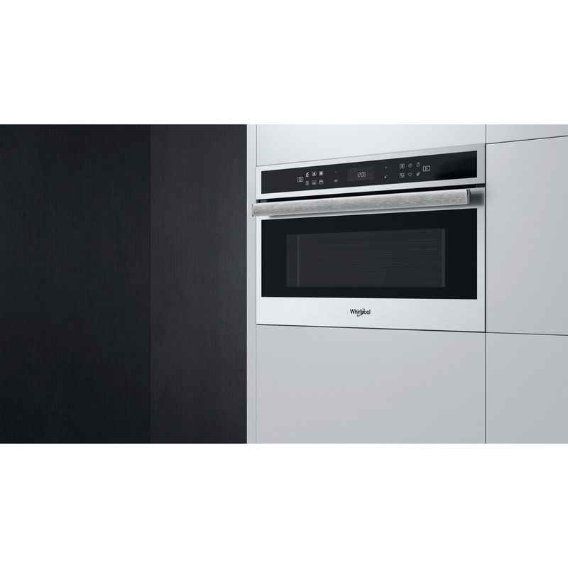 Whirlpool-Microonde-Da-incasso-W6-MD460-Stainless-Steel-Elettronico-31-Microonde-combinato-1000-Lifestyle-perspective