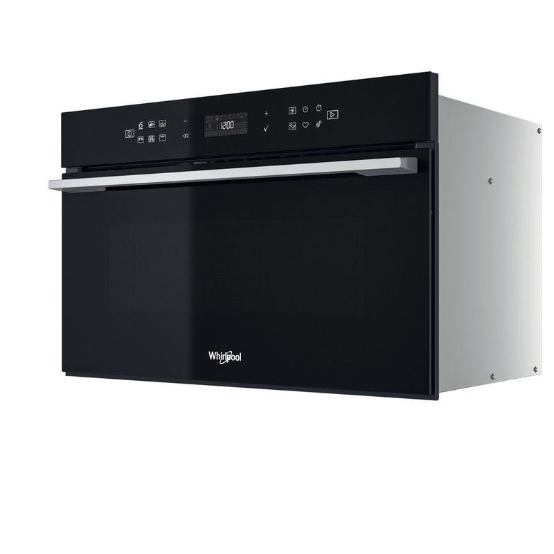 Whirlpool-Microonde-Da-incasso-W7-MD440-NB-Nero-Elettronico-31-Microonde---grill-1000-Perspective