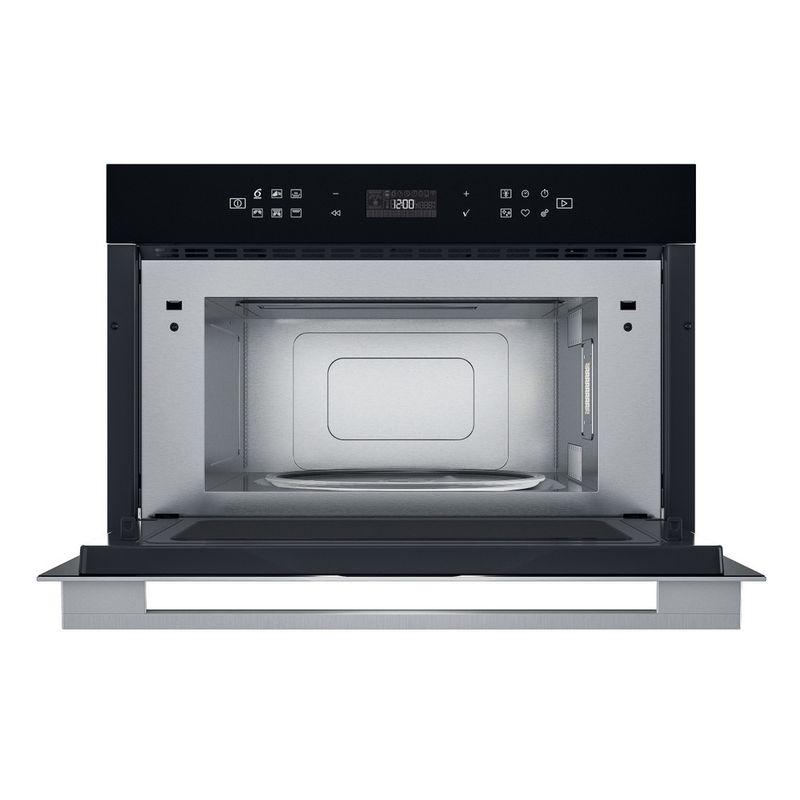 Whirlpool-Microonde-Da-incasso-W7-MD440-NB-Nero-Elettronico-31-Microonde---grill-1000-Frontal-open