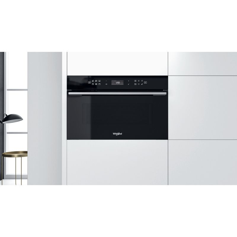 Whirlpool-Microonde-Da-incasso-W7-MD440-NB-Nero-Elettronico-31-Microonde---grill-1000-Lifestyle-frontal