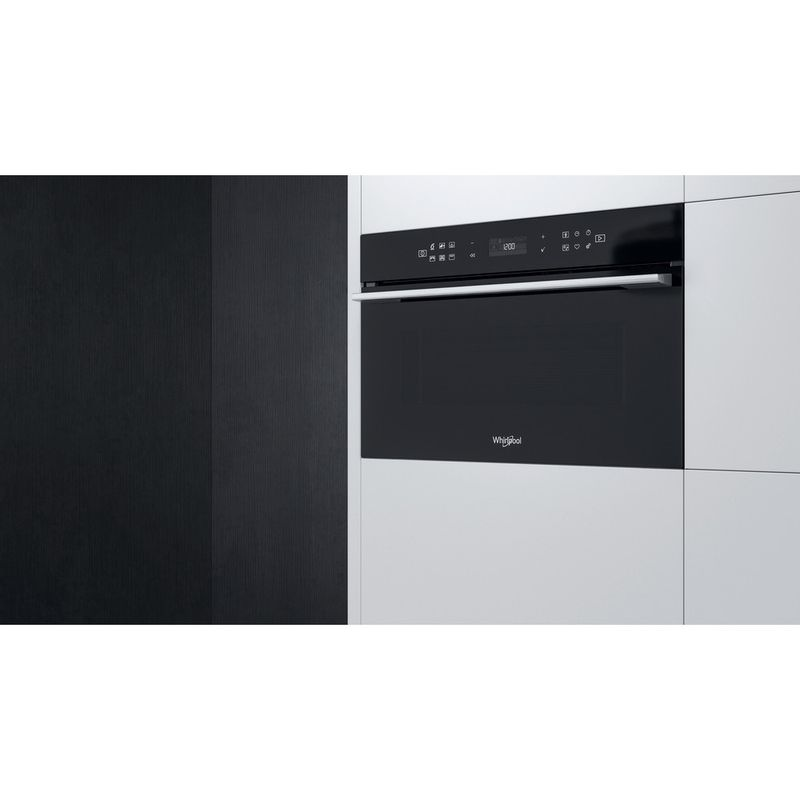 Whirlpool-Microonde-Da-incasso-W7-MD440-NB-Nero-Elettronico-31-Microonde---grill-1000-Lifestyle-perspective