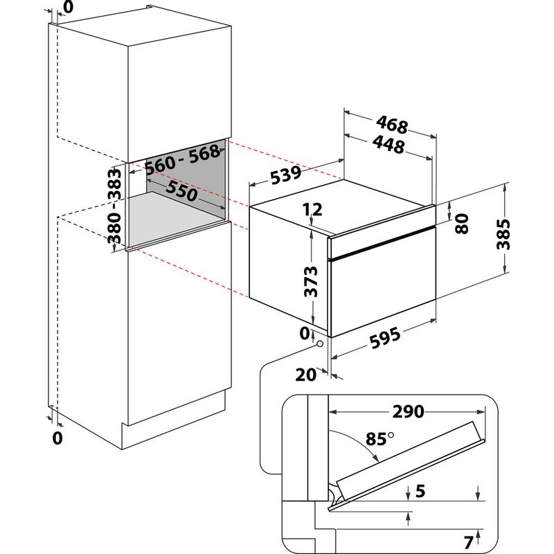 Whirlpool-Microonde-Da-incasso-W7-MD440-NB-Nero-Elettronico-31-Microonde---grill-1000-Technical-drawing