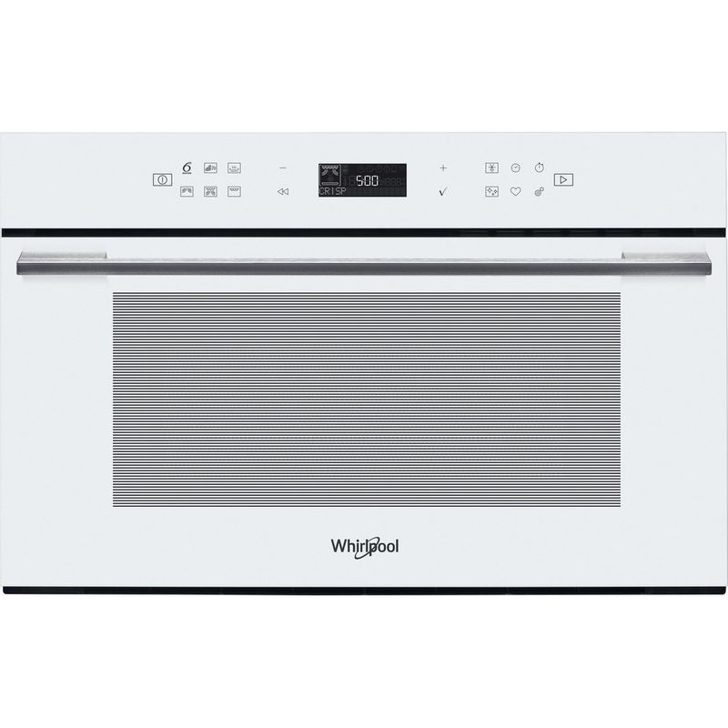 Whirlpool-Microonde-Da-incasso-W7-MD440-WH-Bianco-Elettronico-31-Microonde---grill-1000-Frontal