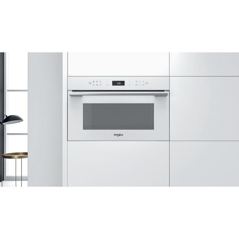Whirlpool-Microonde-Da-incasso-W7-MD440-WH-Bianco-Elettronico-31-Microonde---grill-1000-Lifestyle-frontal