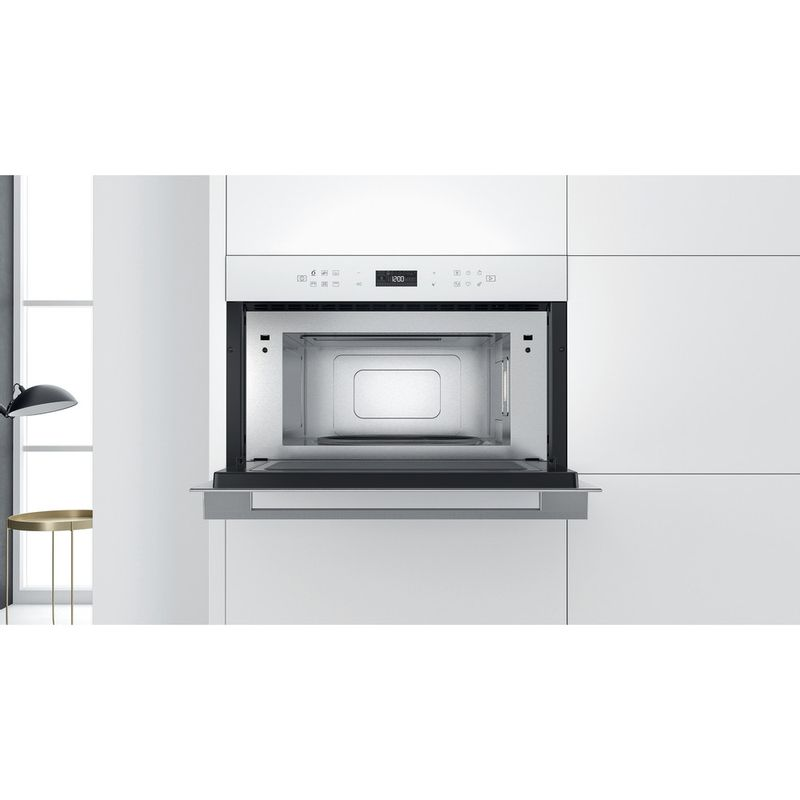 Whirlpool-Microonde-Da-incasso-W7-MD440-WH-Bianco-Elettronico-31-Microonde---grill-1000-Lifestyle-frontal-open