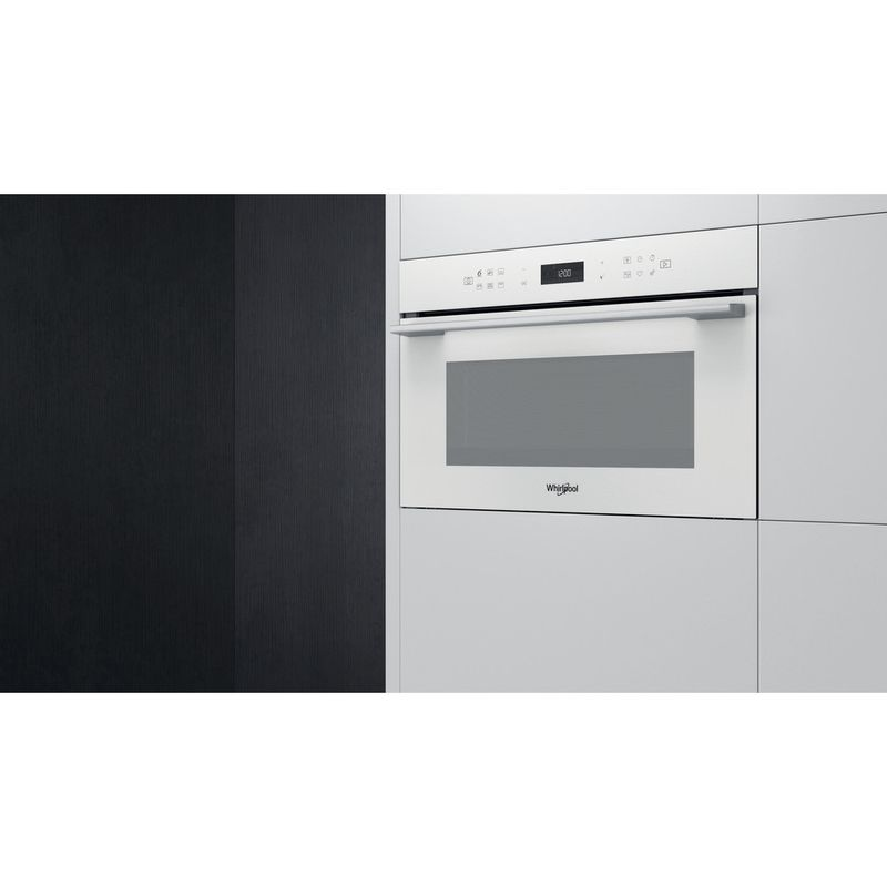 Whirlpool-Microonde-Da-incasso-W7-MD440-WH-Bianco-Elettronico-31-Microonde---grill-1000-Lifestyle-perspective