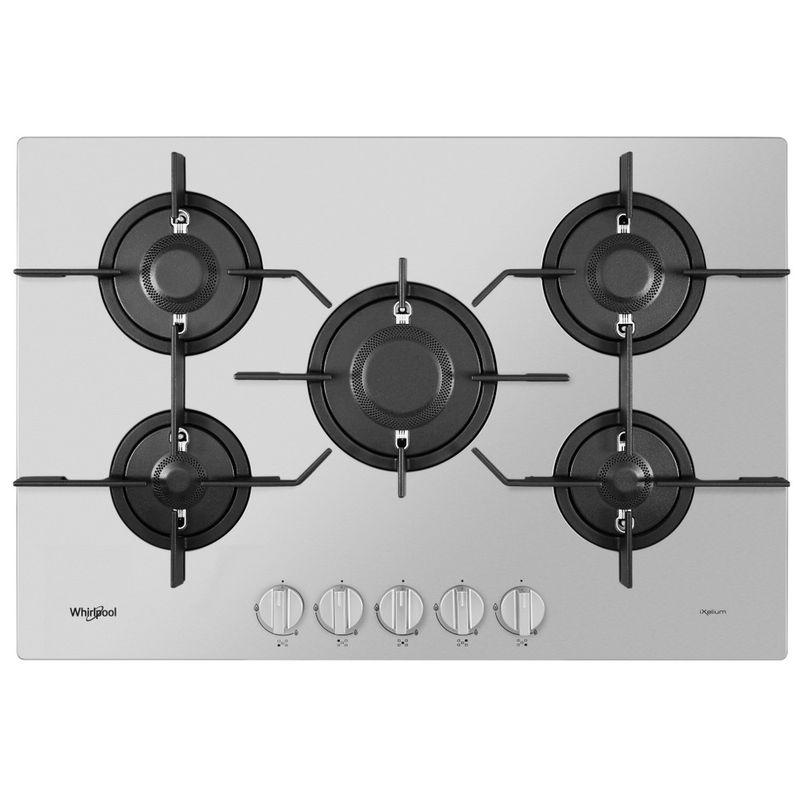 Whirlpool-Piano-cottura-PMW-75D2-IXL-Inox-GAS-Frontal