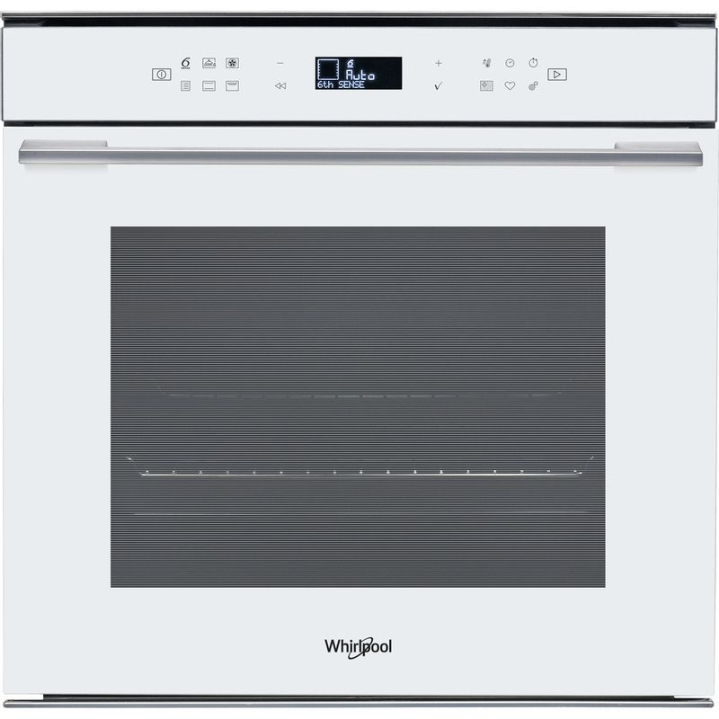 Whirlpool-Forno-Da-incasso-W7-OM4-4S1-P-WH-Elettrico-A--Frontal