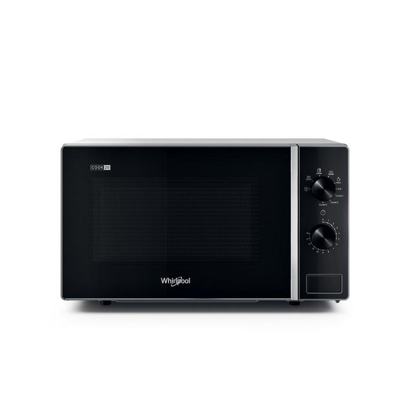 Whirlpool-Microonde-A-libera-installazione-MWP-103-SB-Silver-Black-Meccanico-20-Microonde---grill-700-Frontal