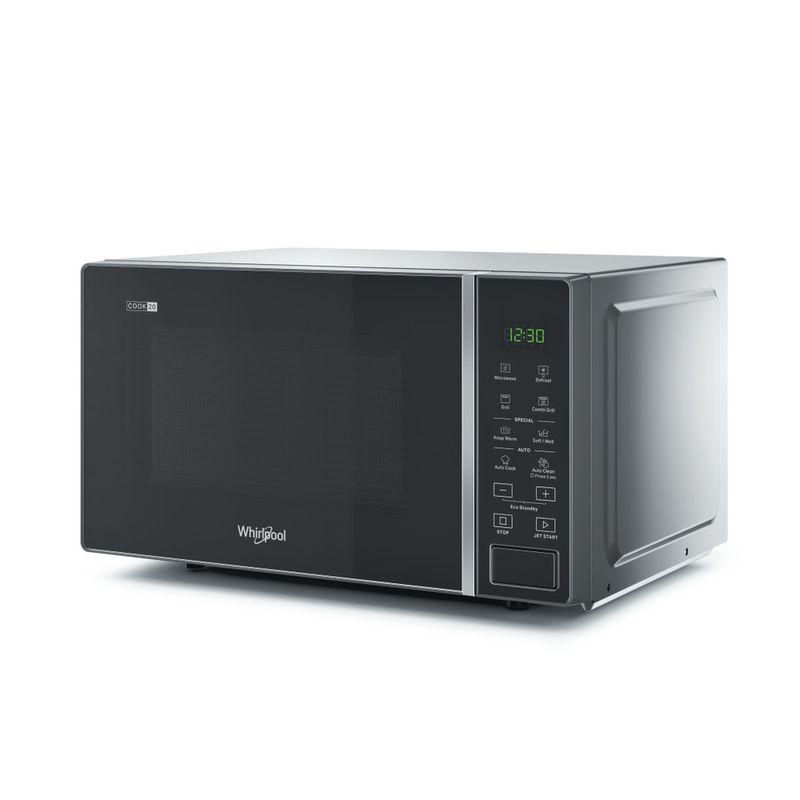 Whirlpool-Microonde-A-libera-installazione-MWP-203-SB-Silver-Black-Elettronico-20-Microonde---grill-700-Perspective