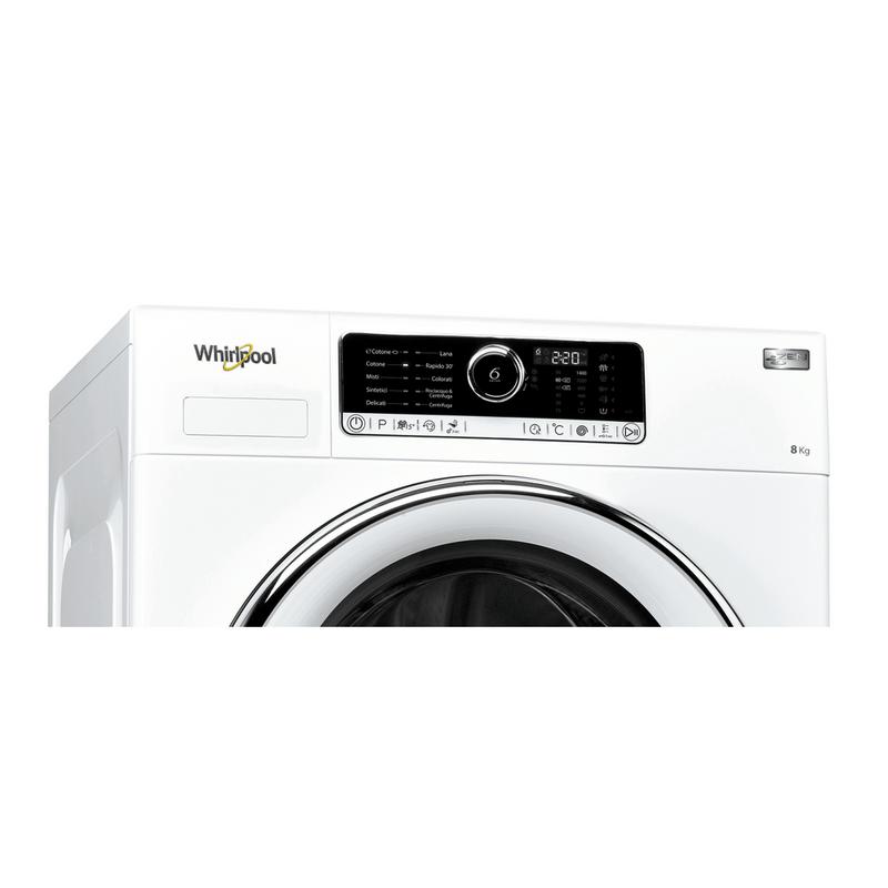 Whirlpool-Lavabiancheria-A-libera-installazione-BEST-ZEN-8-Bianco-Carica-frontale-A----Control-panel