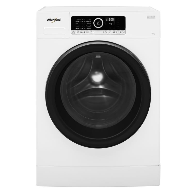 Whirlpool-Lavabiancheria-A-libera-installazione-SUPREME-8415-Bianco-Carica-frontale-A----Frontal