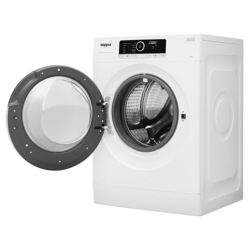 Whirlpool-Lavabiancheria-A-libera-installazione-SUPREME-8415-Bianco-Carica-frontale-A----Perspective-open