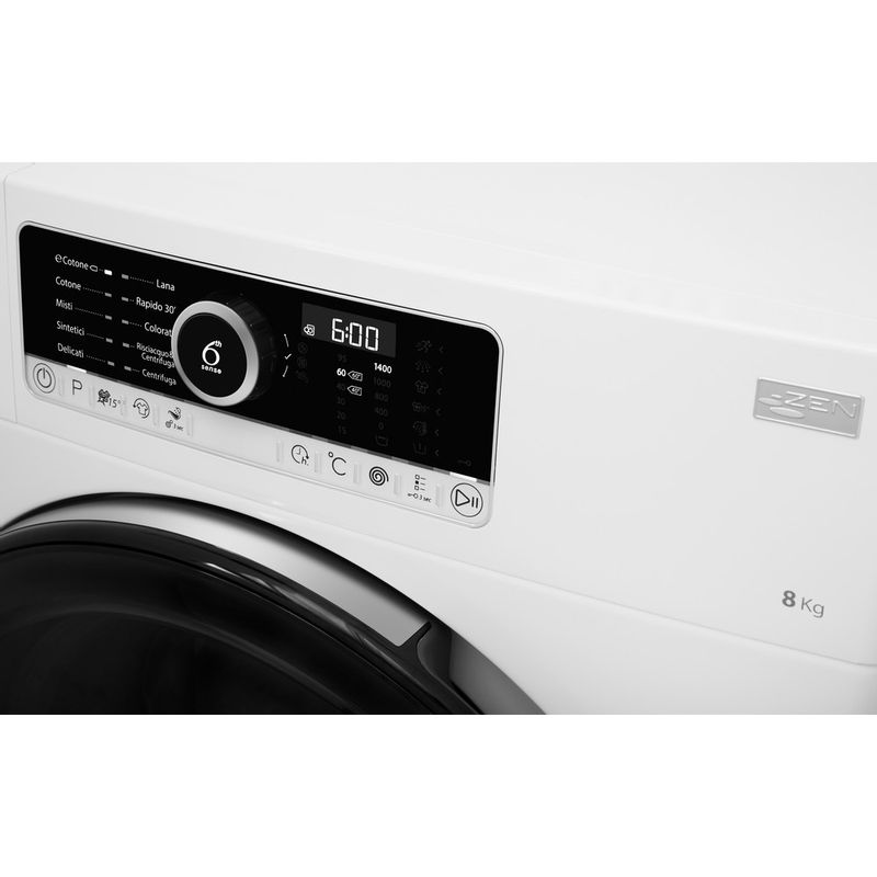 Whirlpool-Lavabiancheria-A-libera-installazione-SUPREME-8415-Bianco-Carica-frontale-A----Control-panel