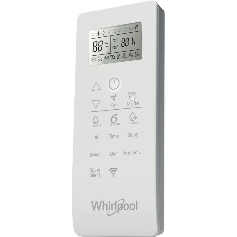 Whirlpool-Condizionatore-SPIW309A2WF-A---Inverter-Bianco-Control_Panel
