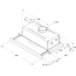 Whirlpool-Cappa-Da-incasso-AKR-749-1-IX-Grigio-Da-incasso-Meccanico-Technical-drawing