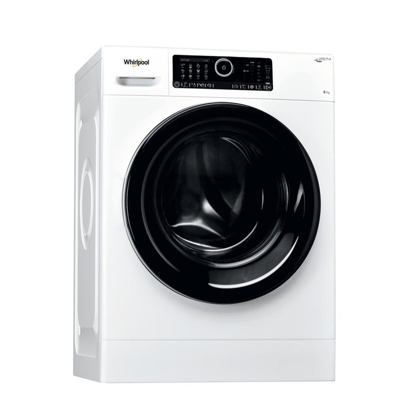 Whirlpool-Lavabiancheria-A-libera-installazione-AUTODOSE-8425-Bianco-Carica-frontale-A----Perspective