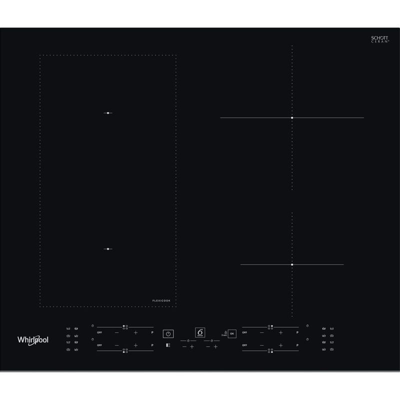 Whirlpool-Piano-cottura-WL-B1160-BF-Nero-Induction-vitroceramic-Frontal