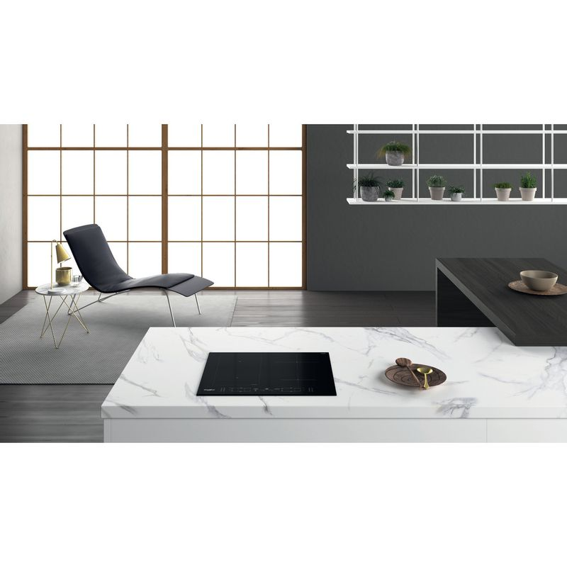 Whirlpool-Piano-cottura-WL-B1160-BF-Nero-Induction-vitroceramic-Lifestyle-frontal-top-down
