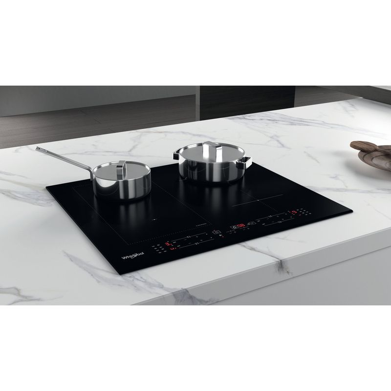 Whirlpool-Piano-cottura-WL-B1160-BF-Nero-Induction-vitroceramic-Lifestyle-perspective