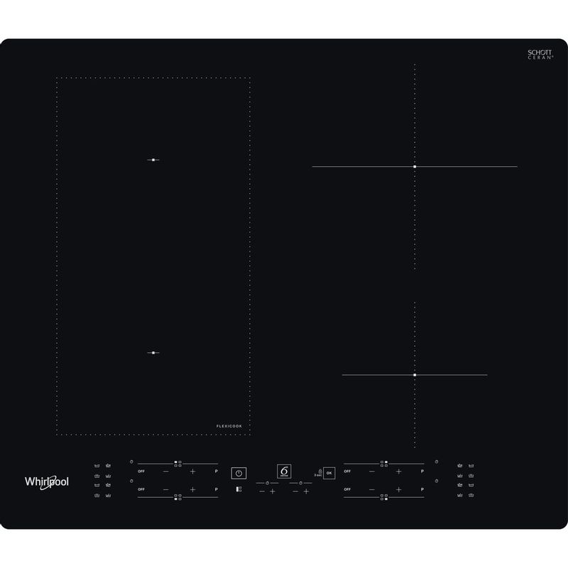 Whirlpool-Piano-cottura-WL-B3360-NE-Nero-Induction-vitroceramic-Frontal