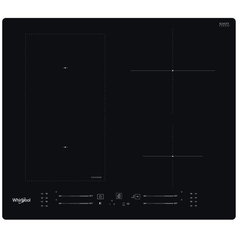 Whirlpool-Piano-cottura-WL-S2260-NE-Nero-Induction-vitroceramic-Frontal