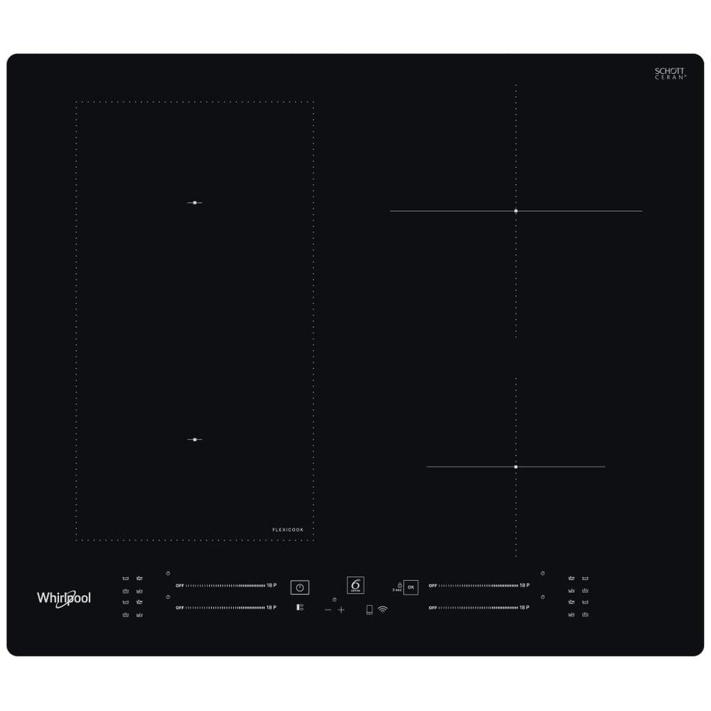 Whirlpool Piano cottura a induzione WL S2260 NE : guarda le specifiche e scopri le funzioni innovative degli elettrodomestici per casa e famiglia.
