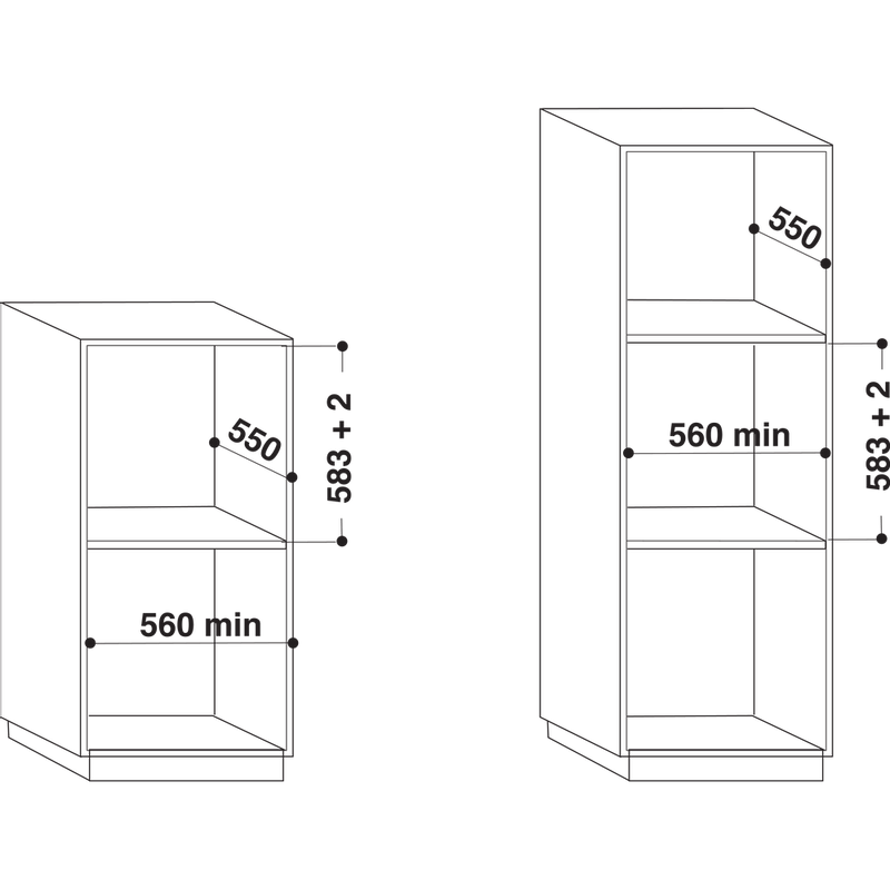 Whirlpool-Forno-Da-incasso-AKZ9-6280-IX-Elettrico-A--Technical-drawing