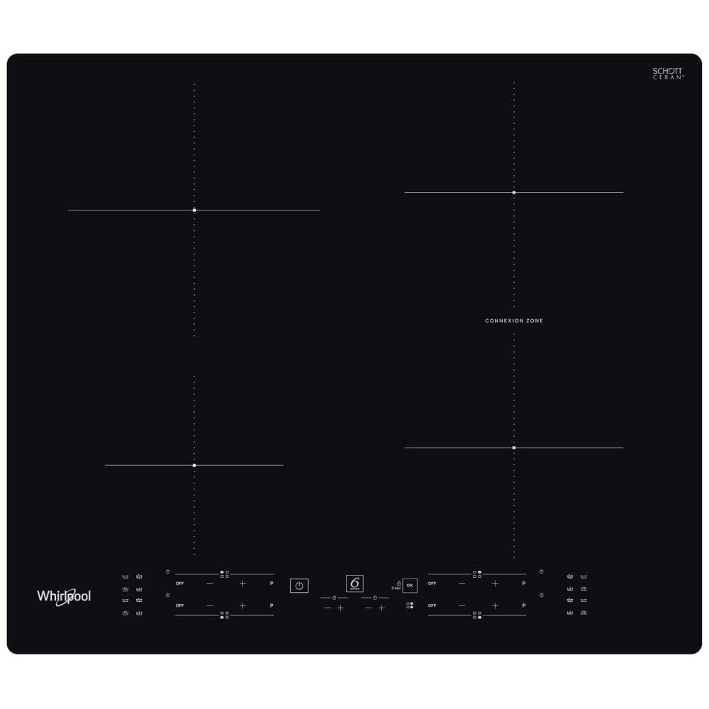 Whirlpool Piano cottura a induzione WB B8360 NE : guarda le specifiche e scopri le funzioni innovative degli elettrodomestici per casa e famiglia.