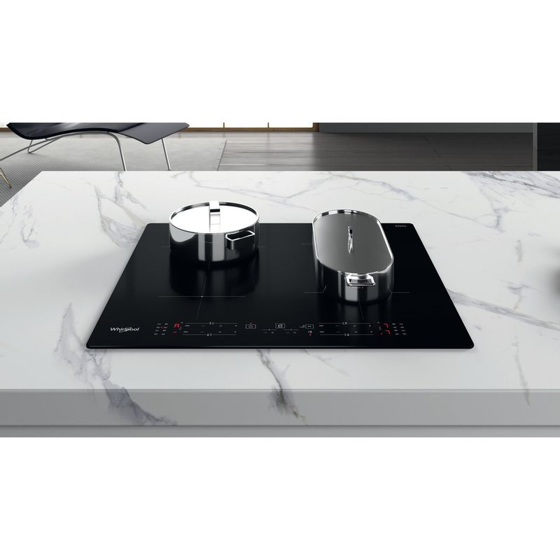 Whirlpool-Piano-cottura-WB-B8360-NE-Nero-Induction-vitroceramic-Lifestyle-frontal-top-down