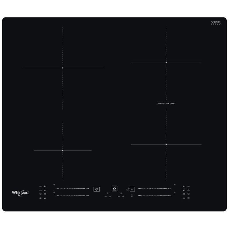 Whirlpool-Piano-cottura-WB-S2560-NE-Nero-Induction-vitroceramic-Frontal
