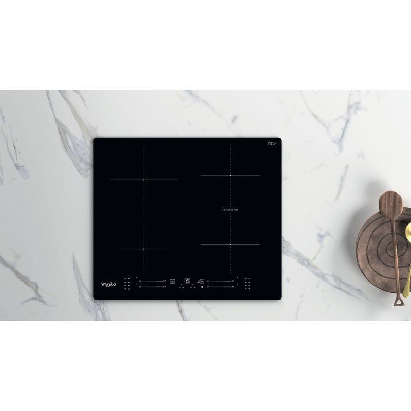 Whirlpool-Piano-cottura-WB-S2560-NE-Nero-Induction-vitroceramic-Lifestyle-frontal