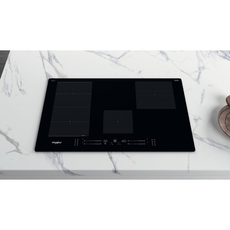 Whirlpool-Piano-cottura-WF-S0377-NE-IXL-Nero-Induction-vitroceramic-Lifestyle-frontal-top-down
