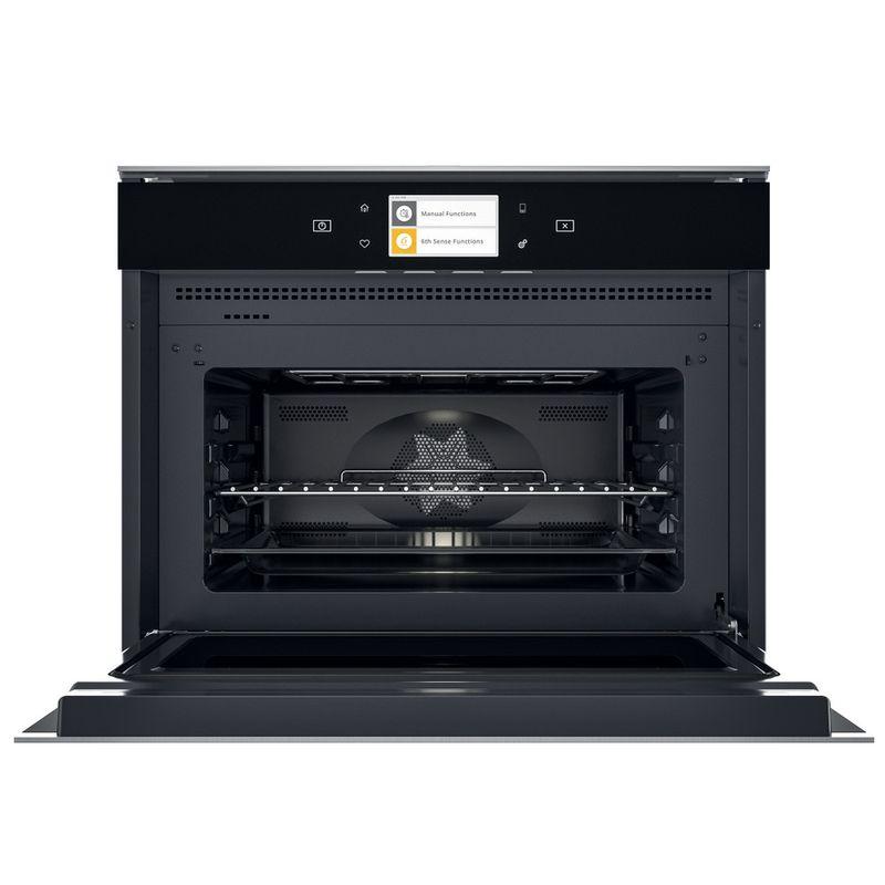 Whirlpool-Microonde-Da-incasso-W11I-ME150-Dark-Grey-Elettronico-40-Microonde-combinato-850-Frontal-open