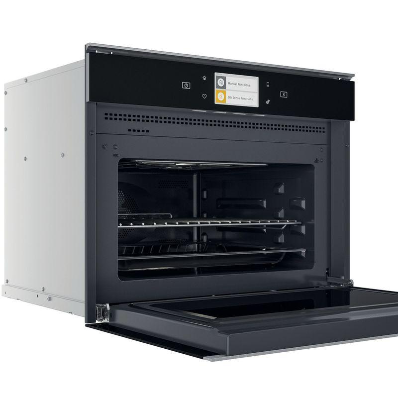 Whirlpool-Microonde-Da-incasso-W11I-ME150-Dark-Grey-Elettronico-40-Microonde-combinato-850-Perspective-open