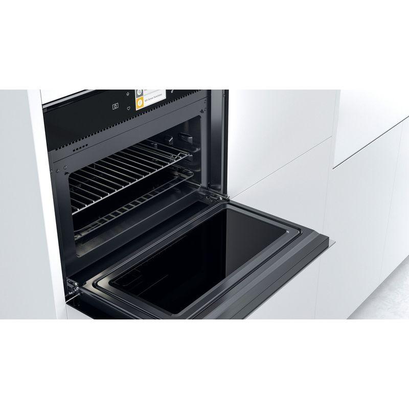 Whirlpool-Microonde-Da-incasso-W11I-ME150-Dark-Grey-Elettronico-40-Microonde-combinato-850-Lifestyle-perspective-open