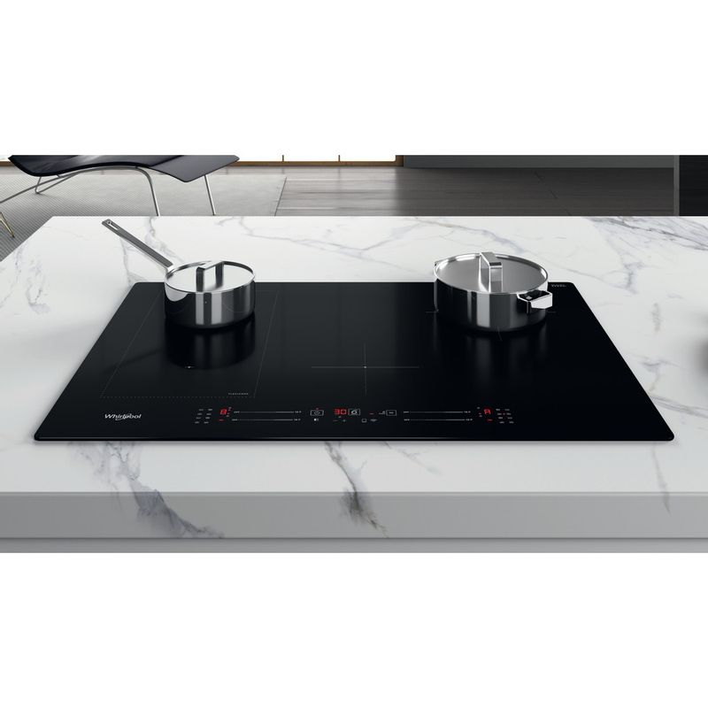 Whirlpool-Piano-cottura-WL-S5177-NE-Nero-Induction-vitroceramic-Lifestyle-frontal-top-down