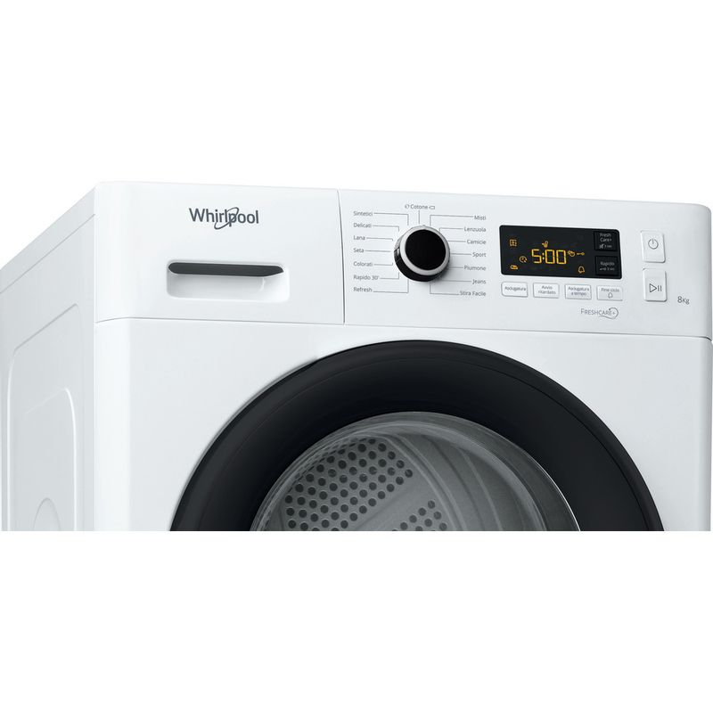 Whirlpool-Asciugabiancheria-FT-M11-8X3B-IT-Bianco-Control-panel