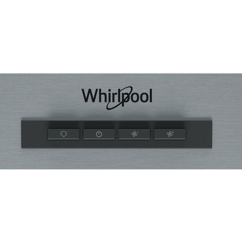 Whirlpool-Cappa-Da-incasso-AKR-934-1-IX-Inox-Montaggio-a-parete-Meccanico-Control-panel